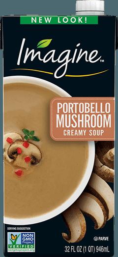 Creamy Portobello Mushroom Soup