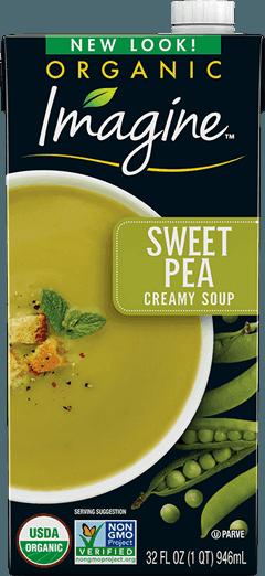 Creamy Sweet Pea Soup