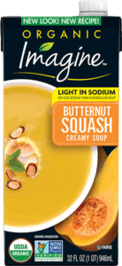 Light In Sodium Creamy Butternut Squash Soup