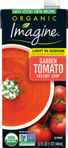 Light In Sodium Creamy Garden Tomato