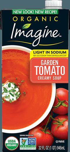 Light In Sodium Creamy Garden Tomato