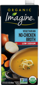 Low Sodium Vegetarian No-Chicken Broth