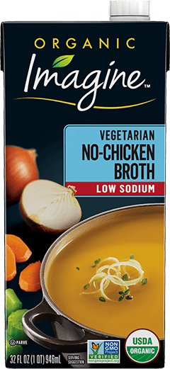 Low Sodium Vegetarian No-Chicken Broth