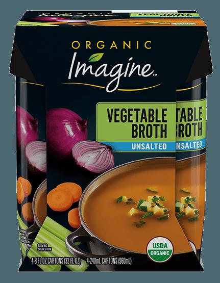 Unsalted Vegetable Broth
