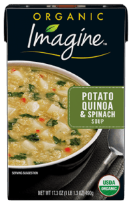 Potato Quinoa And Spinach Soup