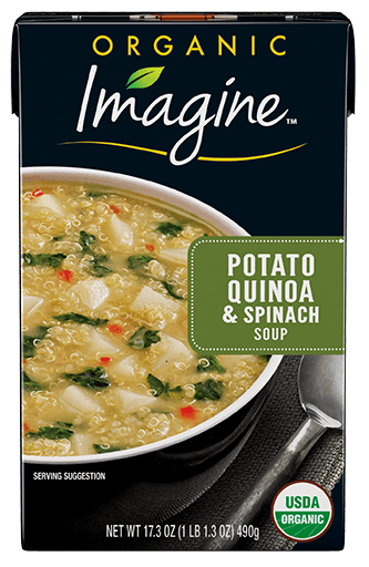 Potato Quinoa And Spinach Soup