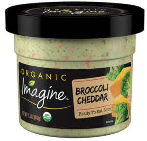 Broccoli Cheddar Microwavable Soup