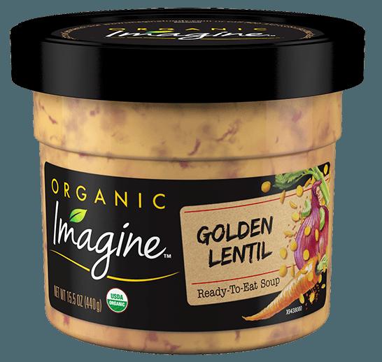 Indian Lentil Curry Microwavable Soup